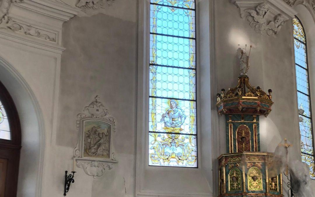 Innenreinigung Kirche St. Anna
